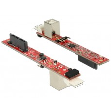 DeLOCK 62651 - Slim SATA 13-pin till USB 2.0 Typ B ho adapter