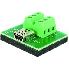 Delock Adapter Mini  USB hona > Terminal Block 6 pin