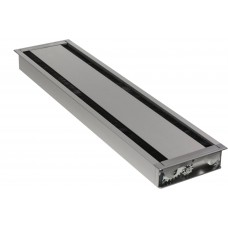 Axessline Duo 60, 610 x 148 mm, Silver