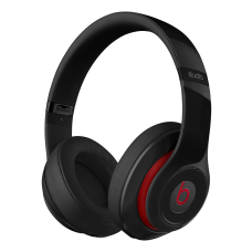 Beats by Dr Dre - Beats Studio Over-Ear headset, svart/röd