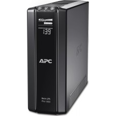 APC Back-UPS, Line-interactive UPS - 1.50 kVA/865W Tower