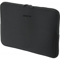 "Dicota Perfect Skin, laptopfodral i nylon, upp till 15,6"", svart"