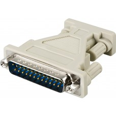 DELTACO AT-adapter DB9ho-DB25ha