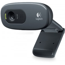 Logitech Webcam C270, Retail, HD, 720P, USB2.0, 1,5m kabel, svart