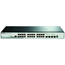 28-Port Gigabit Stackable PoE Smart Managed Switch