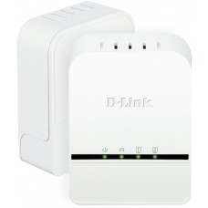 D-Link Powerline Homeplug AV 500 2-Port Mini Adapter Starter Kit, QoS