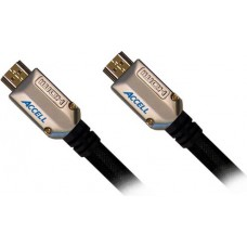 ACCELL ProUltra Elite HDMI-kabel, 19-pin ha-ha, 1m, svart