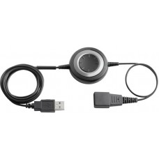 Jabra Link 280, USB-amplifier QD to USB, Plug & Play connection