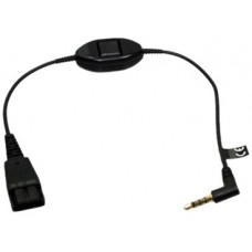 Headset Cord for Speak™ 410/510, Jack 3.5 mm straight to QD