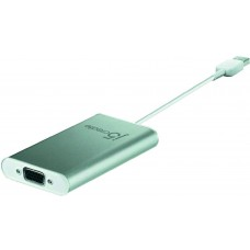 j5 create JUA210, USB 2.0 till VGA-adapter, silver