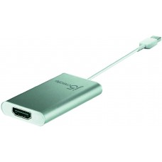 j5 create JUA250, USB 2.0 till HDMI-adapter, silver