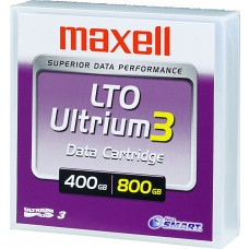 Maxell LTO Ultrium 3 band, 680 m, 400/800 GB