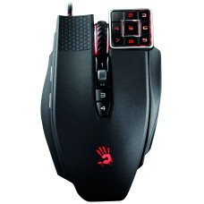 A4tech Bloody Mouse ML16, gaming mus med numerisk numpad, USB, sv/röd
