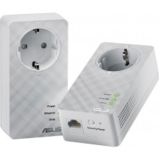 ASUS Home Plug AV 600Mbps Powerline Adapter, duo kit