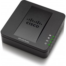 Cisco VOIP gateway with router 2 x RJ-45 - 2 x FXS - Fast Ethernet