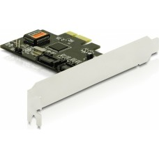 DeLOCK PCI-Express kort, Serial ATA-300, 2xSATA(int)