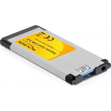 DeLOCK ExpressCard 34mm, USB 3.0, 1xTyp A port