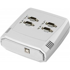 VSCOM USB till seriell adapter RS-232 4xDB9ha